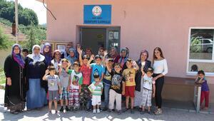 Öğrenci velileri, çocukları için köy okulunu yeniledi