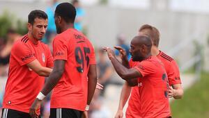 Beşiktaş ikinci hazırlık maçında farklı galip geldi