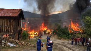 Eve düşen yıldırım bir köyü yok ediyordu