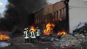 78 fabrika yandı Akıllarda o soru...