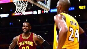 Bryant'a göre Lebron'un gelişi Lakers'da yıldız yaratacak