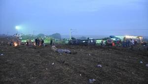 Tekirdağda tren faciasında bilanço ağır: 24 ölü, 318 yaralı (3)- Yeniden