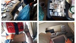 Vanda 2 bin 510 paket gümrük kaçağı sigara ele geçirildi