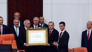 Cumhurbaşkanı Erdoğanın yeminiyle yeni sistem başladı