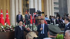 Başkan Erdoğan, yemin törenine katıldı