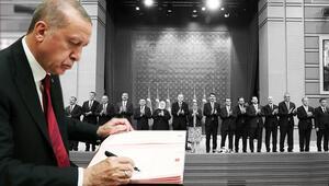 Son dakika... Cumhurbaşkanı Erdoğan yeni kabineyi açıkladı