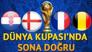 Dünya Kupası 2018 yarı final maçları ne zamanBugün hangi maç saat kaçta