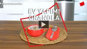 Ev Yapımı Granola