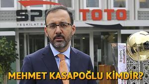 Gençlik ve Spor Bakanı Mehmet Muharrem Kasapoğlu kimdir İşte hayatı hakkında bilgiler