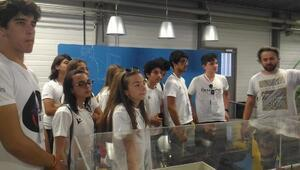 Manavgatlı öğrenciler CERNde