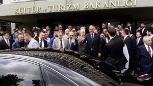 Kültür Bakanı Ersoy: Yeni dönemde öncelikli hedef nitelikli turist
