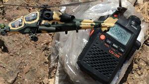 Geldiklerini duyan PKK'lıların paniği telsize yansıdı