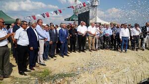 Edirnede, 1000 sokak hayvanı için yapılacak bakımevinin temeli atıldı