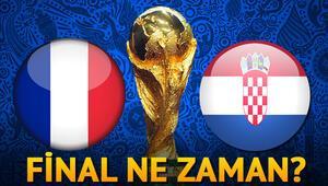 Dünya Kupası final maçı ne zaman hangi gün yayınlanacak Finalin ismi Hırvatistan Fransa
