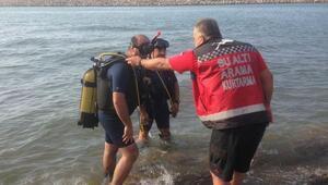 Giresun İtfaiyesi denize giren vatandaşları uyardı