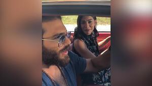 Can Yaman, çektiği videoyu Instagram'da takipçileri ile paylaştı