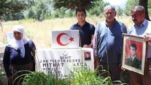 20 yıl önce oğullarını şehit eden teröristin öldürüldüğü haberini aldılar