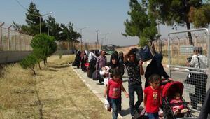Bayram ziyaretine giden 37 bini aşkın Suriyeli döndü