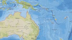 Dünyanın en mutlu ülkesi Vanuatu'da 6.4 büyüklüğünde deprem