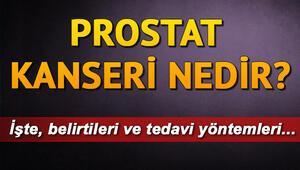Prostat kanserinin belirtileri neler Prostat kanseri nedir