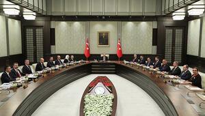 Yeni hükümet sisteminin ilk kabine toplantısı yapıldı... Dikkat çeken OHAL açıklaması