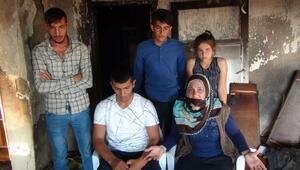 Evi yanan aile sokakta yaşam mücadelesi veriyor