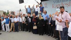 Suriyeye 10 TIR dolusu gıda yardımı