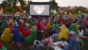 Süleymanpaşada, Açık hava sinema günleri devam ediyor