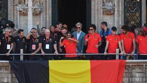 Belçikada çılgın kutlama Hazard öyle bir şey yaptı ki...