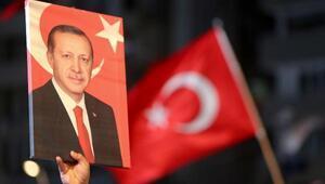 Antalyada Milli Birlik Yürüyüşü