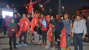 Yabancı öğrenciler, 15 Temmuz anmalarına katıldı