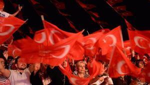 Diyarbakır, Tunceli ve Elazığda 15 Temmuz anma programlarına binler katıldı