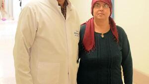 Tümörden Kayseri Acıbadem hastanesinde kurtuldu