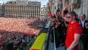 Belçikaya harika karşılama töreni...