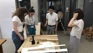 Üniversiteliler Japon mimarisini inceliyor