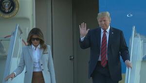 ABD Başkanı Donald Trump, Finlandiyanın başkenti Helsinkiye geldi