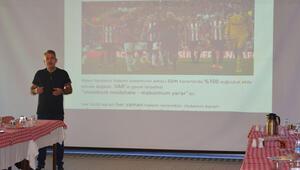 Sivassporda futbolculara VAR eğitimi verildi