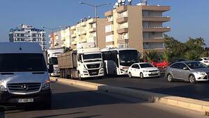 Şüpheli paket paniği: D-400 karayolu trafiğe kapatıldı
