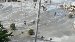 Tatil cennetinde tsunami şoku
