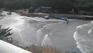 Turizm cennetini tsunami vurdu