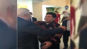 "Maradona'dan Mahmud Abbas'a: ""Ben Filistinliyim"""