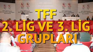TFF 2. lig ve 3. lig fikstür ve gruplar belli oldu