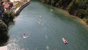 Hemşinde su sporları ve tulum şenliği