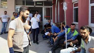 İzmirde büyük panik Zehirlenen işçi sayısı 700e ulaştı