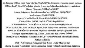 Ölüm ilanını kendisi hazırlayan Halim Ağaoğlu, son yolculuğunu uğurlandı