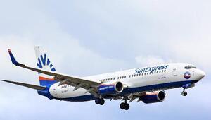 SunExpress, Türkiyenin 1inci, dünyanın 5inci en iyi tatil hava yolu seçildi