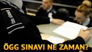 Özel Güvenlik Görevlisi sınavı ne zaman 77. ÖGG sınav tarihi