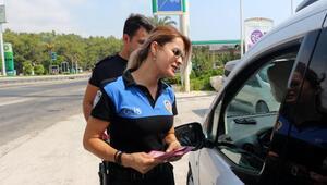 Tatil dönüşü polisten sürücülere uyarı