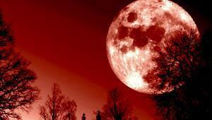 Kanlı Ay tutulması ne zaman hangi gün gerçekleşecek Ay tutulması Türkiye'den izlenebilecek mi