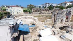 Sinopta Balatlar yapı topluluğu kazısı 9 yıldır devam ediyor
